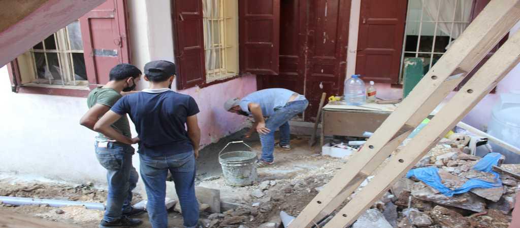 Lavori di ristrutturazione - Beirut 2020