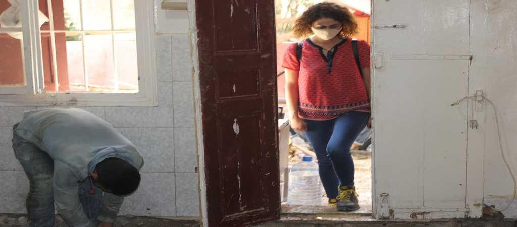 Monitoraggio di lavori di ristrutturazione - Beirut 2020